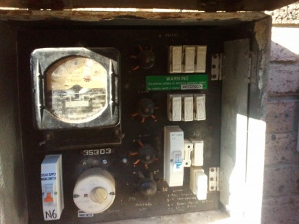 meter box - before picture